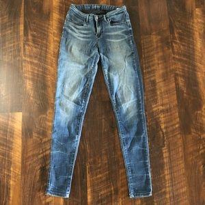 Levi's Super Skinny Denim Jeggings Size 25